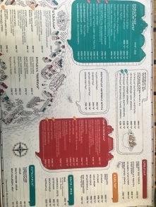menu in Armenian