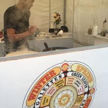 Crepe stand featuring seasonal menu ideas