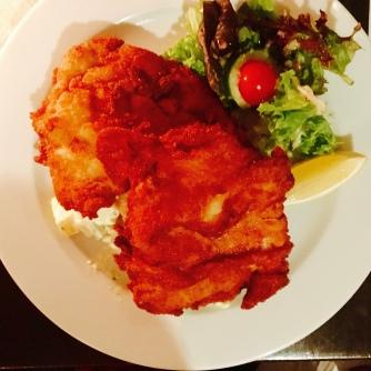 Another schnitzel at Speisehaus