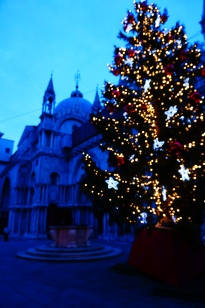St Mark's and a Christmas Tree