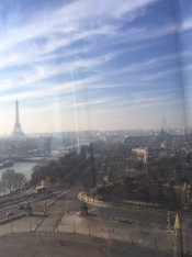the Great Ferris Wheel, at the Jardin des Tuileries and Place de la Concorde