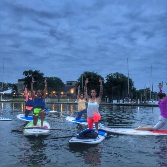 Paddle and Pose with Pro Yoga